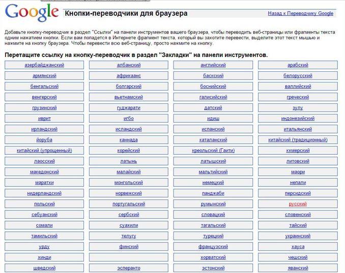Гугл перевод